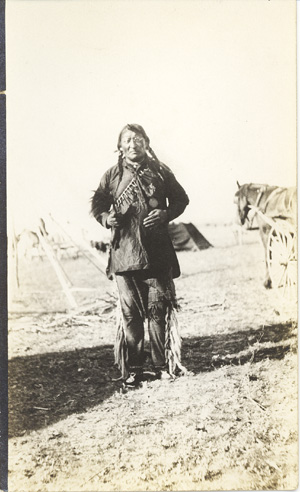 Ceremonial Native Blackfoot