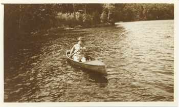 Rev.  Calvin In Canoe