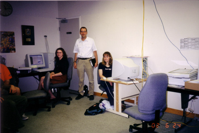 Digitization Team, Hamilton Library, Paul Takala, Abby Egerter, April Young