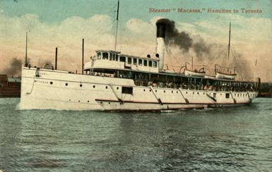 Picture of the Macassa Steamer (c.1906)