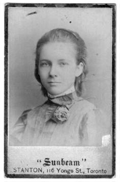 Mary Baldwin at 12 years old (1874-1964)