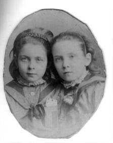 Ruby and Hilda (c.1887)