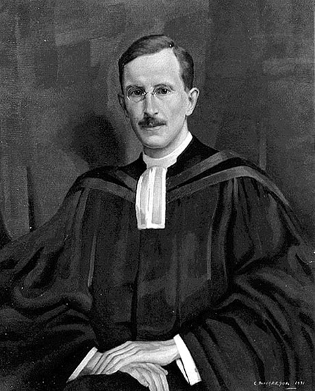 Oil painting of Rev. Dr. Samuel Harper Gray<p>The painting was first at Old St. Andrew's Presbyterian (then United), Toronto and upon the church building's closure moved to St. Andrew's United, Bloor St., Toronto.  The paintings of the ministers including Harper Gray were stolen from the church sanctuary. If you have any information, please contact us.