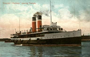 Picture of the Turbinia Steamer (c.1906)